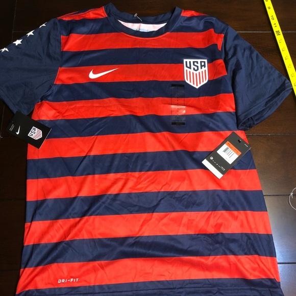 8e0523ee34c Nike Shirts | Mens Usa Soccer Shirt Usmnt Gold Cup 2017 | Poshmark